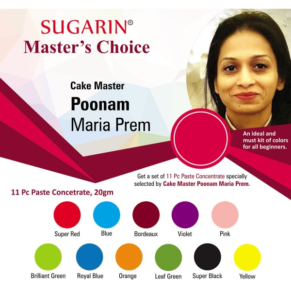 Sugarin Cake Master Poonam Maria Prem : Master's Choice 3