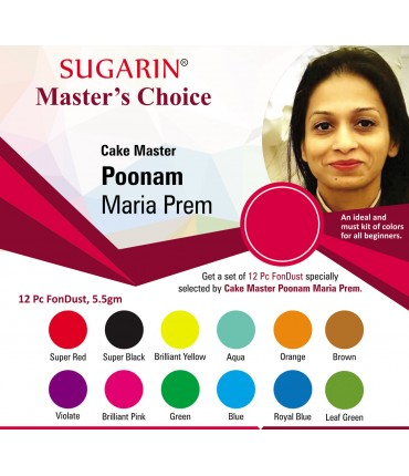 Sugarin Chef Poonam Maria Prem's Choice (Fondust)