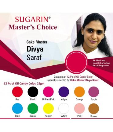 Sugarin Chef Divya Saraf Master's Choice