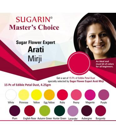Sugarin Chef Arati Mirji's Choice (Edible Petal Dust)