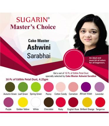 Sugarin Chef Ashwini Sarabhai's Choice (Edible Petal Dust)