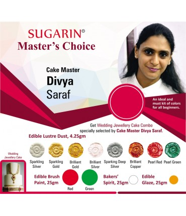 Sugarin Chef Divya Saraf Master's Choice (Edible Lustre Dust)