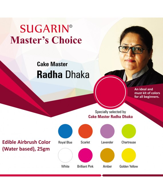 Sugarin Cake Master Radha Dhaka : Master's Choice 1