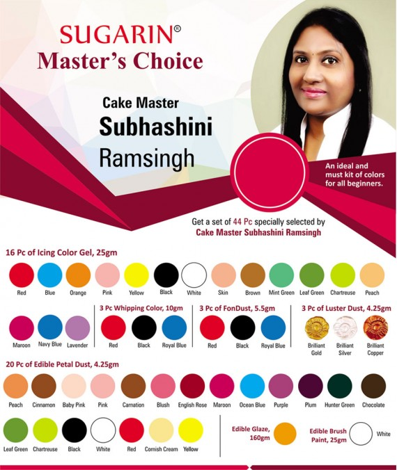 Sugarin Cake Master Shubhashini Ramsingh : Master's Choice