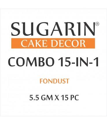 Sugarin Combo Fondust, 5.5gm X 15 pcs.