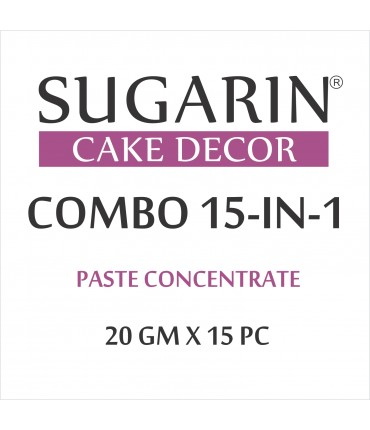 Sugarin Combo Paste Concentrate, 20gm X 15 pcs.