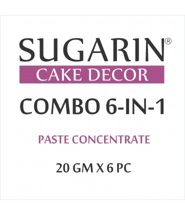 Sugarin Combo Paste Concentrate, 20gm X 6 pcs.