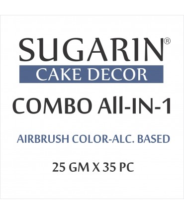 All in One Air Brush Color Alcohol-Based Non Metallic, 25gm