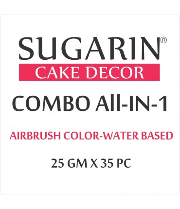 All in One Air Brush Color Water-Based Non Metallic, 25gm