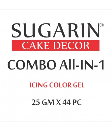 All in One Icing Color Gel, 25gm X 44 pcs.