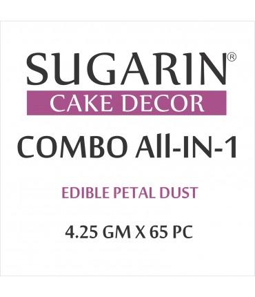 All in One Edible Petal Dust, 4.25gm X 65 pcs.