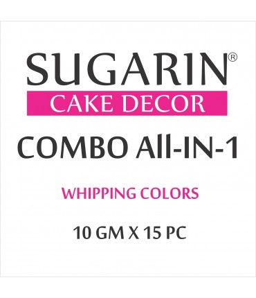 All in One Whipping Colors, 10gm X 10 pcs.