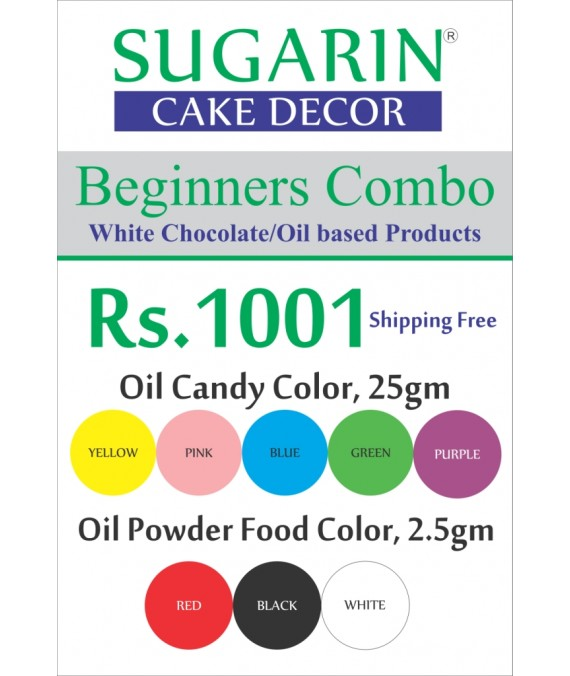 Beginners Combo Chocolate/Oil Based Products