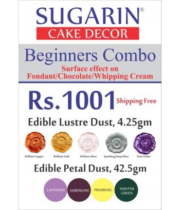 Beginners Combo Edible Lustre/Petal Dust