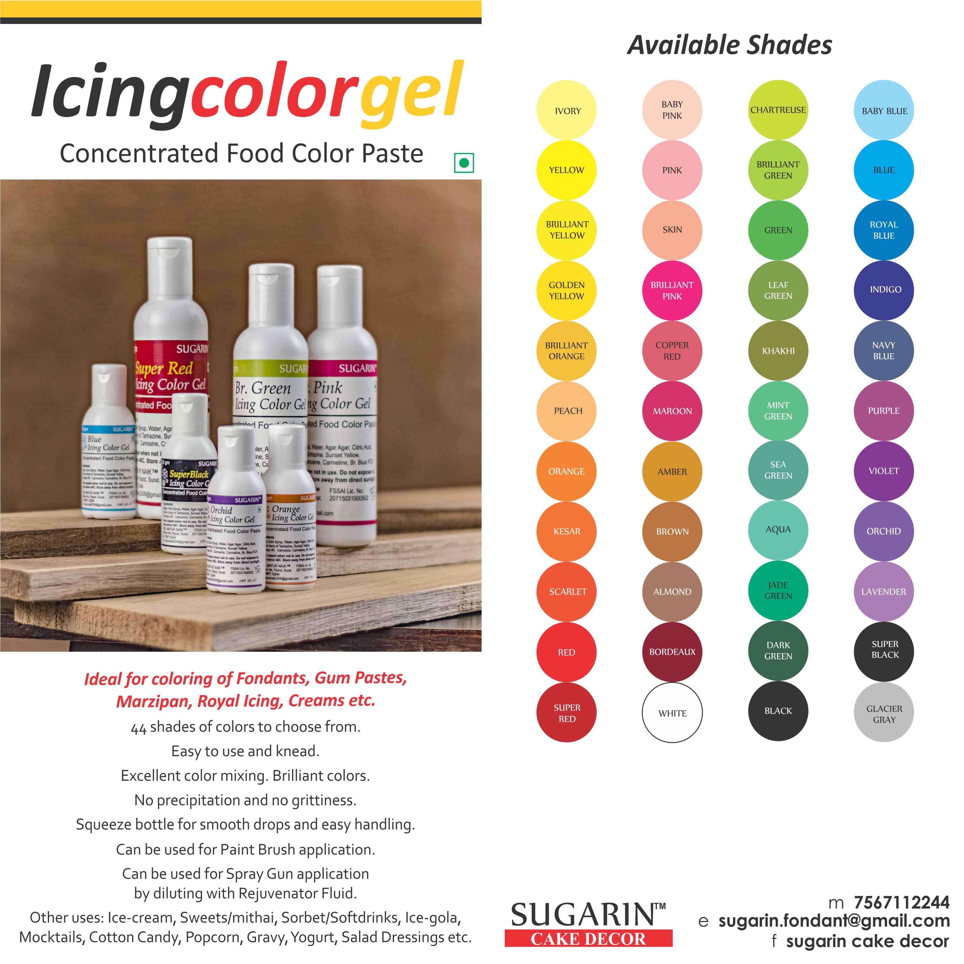 Icing Color Gel