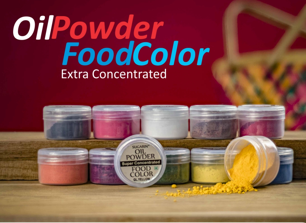 Oil Powder Food Color