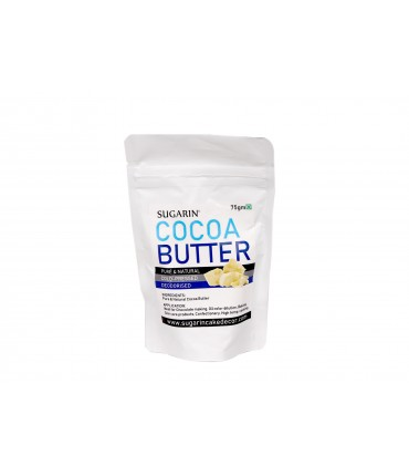 SUGARIN Premium Cocoa Butter, 75gm