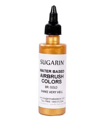 Air Brush Color - Metallic (Water Based) 110ml