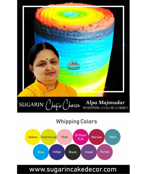 Whipping Color Combo by Alpa Majmudar