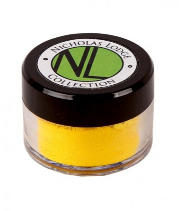 NL Edible Petal Dust 10ml, Lemon Yellow