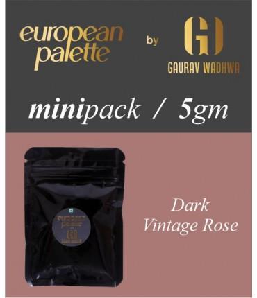 European Palette, Dark Vintage Rose, Icing Color Gel, 5gm (6ml)