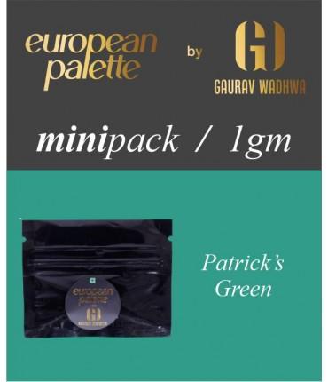 European Palette, Patrick's Green, Oil Powder Food Color, 1gm (2.5ml)