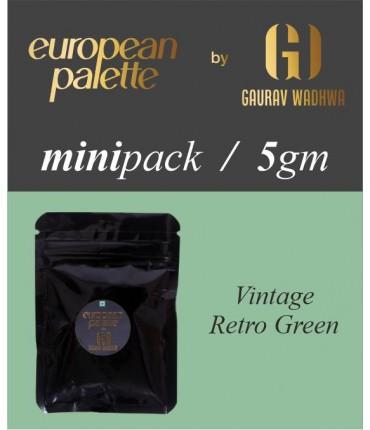 European Palette, Vintage Retro Green, Icing Color Gel, 5gm (6ml)