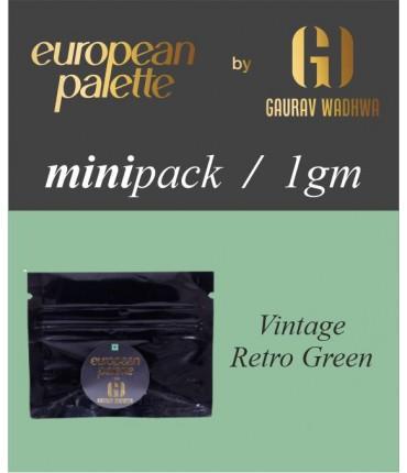 European Palette, Vintage Retro Green, Oil Powder Food Color,1gm (2.5ml)