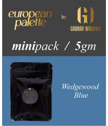 European Palette, Wedgewood Blue, Oil Powder Food Color. 1gm (2.5ml)