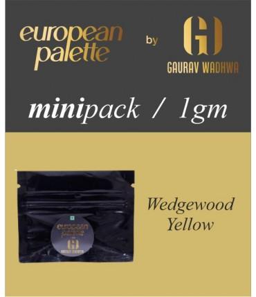 European Palette, Wedgewood Yellow, Oil Powder Food Color, 1gm (2.5ml)