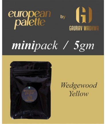 European Palette, Wedgewood Yellow, Icing Color Gel, 5gm (6ml)