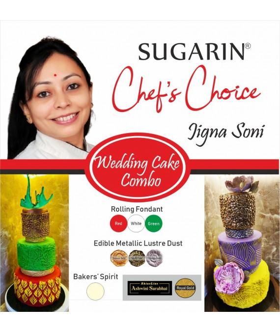 Wedding Cake Combo by Jigna Soni