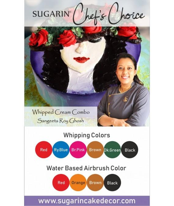 Whipped Cream Combo by Sangeeta Roy Ghosh