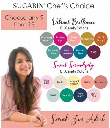 Vibrant Brilliance & Sweet Serendipity Mix Combo by Sarah Zia Adeel