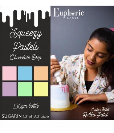 Chocolate Drip Pastels by Rutika Patel