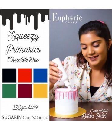 Chocolate Drip Primaries by Rutika Patel