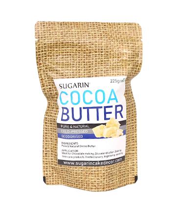 SUGARIN Premium Cocoa Butter, 225gm