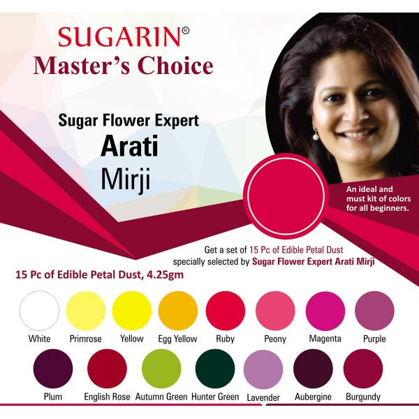 Sugarin Sugar Flower Expert Arati Mirji Master's Choice