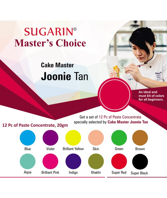 Sugarin Cake Master Joonie Tan : Master's Choice 2
