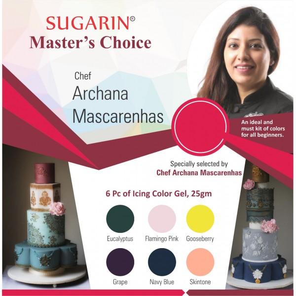 Sugarin Cake Master Archana Mascarenhas : Master's Choice