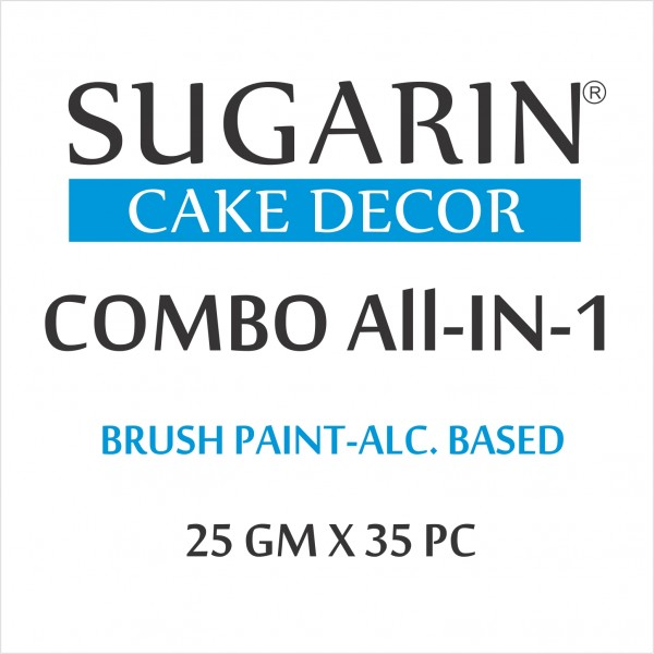 All in One Edible Brush Paint, 25gm