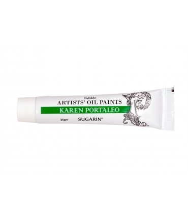 Edible Artists Oil Paint, Green, 35gm Tube