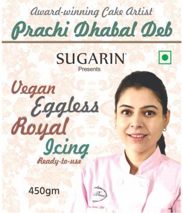 Vegan Eggless Royal Icing By Prachi Dhabal Deb, 450gm