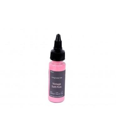 European Palette, Vintage Soft Pink, Icing Color Gel, 30ml